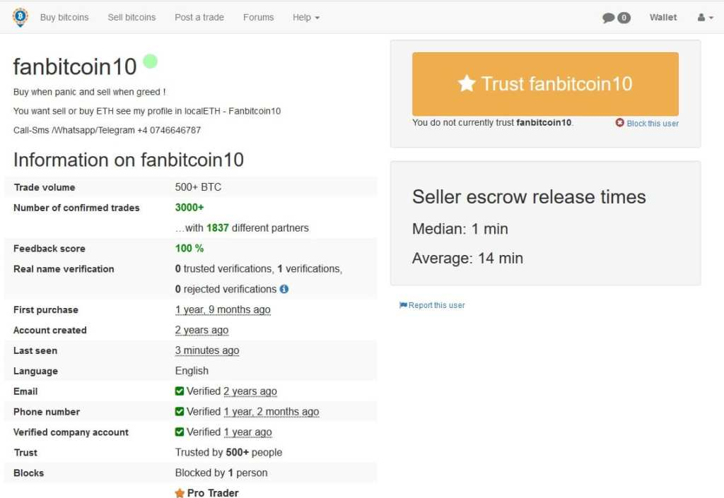 localbitcoins trusted bitcoin seller profile