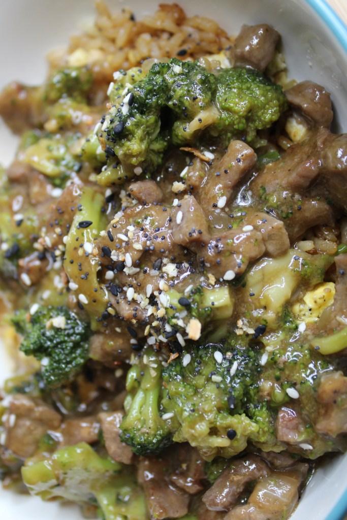 weeknight beef and broccoli
