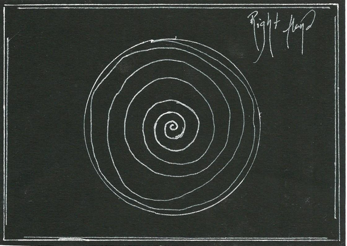 Right Hand Hypnotic Swirl