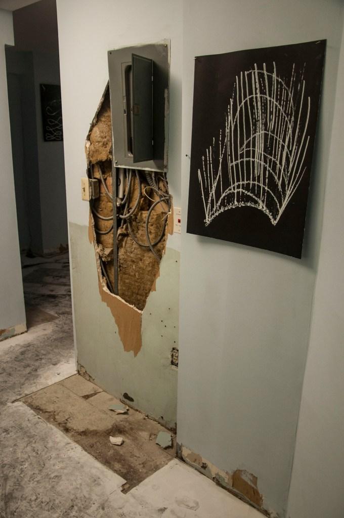 Visions in the Dark Installation
