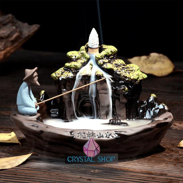 monk incense holder