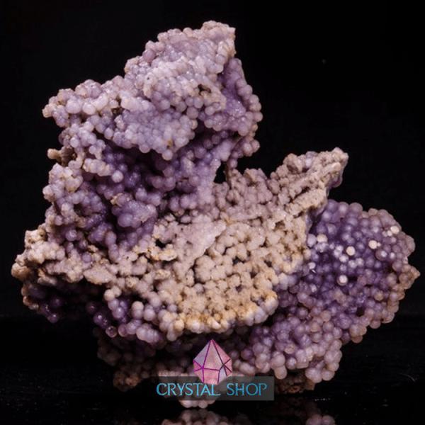 purple agate crystal
