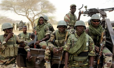 Joint Task Force Eliminate 11 Terrorists, Recover Arms, Fuel In Borno-Crystal News