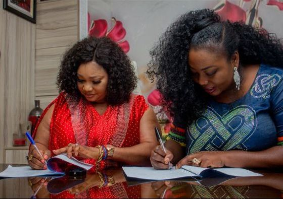 Nollywood's Jaiye Kuti Becomes 'HOPE By Kiki Okewale' Fashion Brand Ambassador