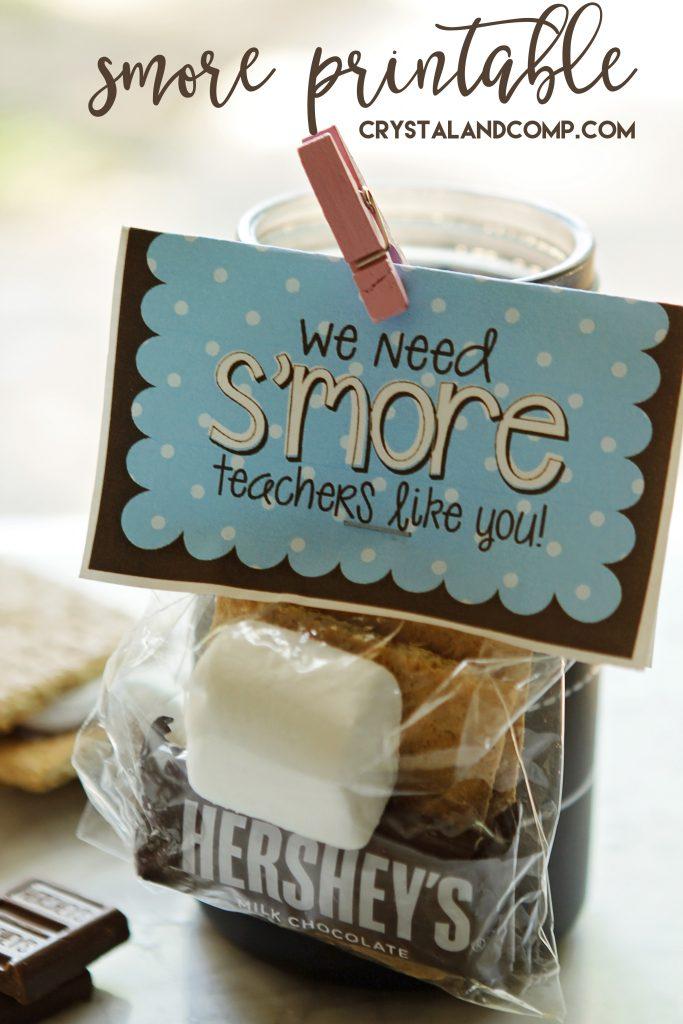 Smore Teacher Printable