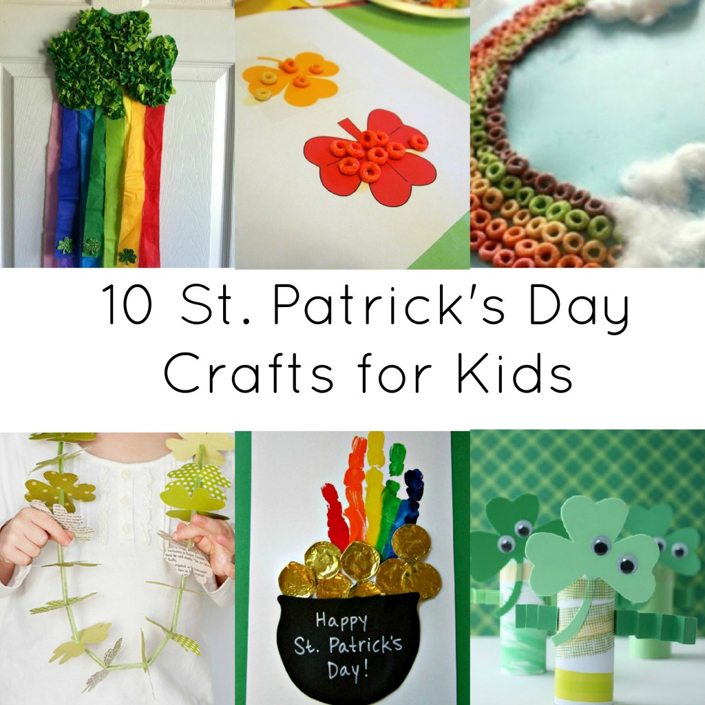 Activities For Kids 10 St Patrick Day Crafts