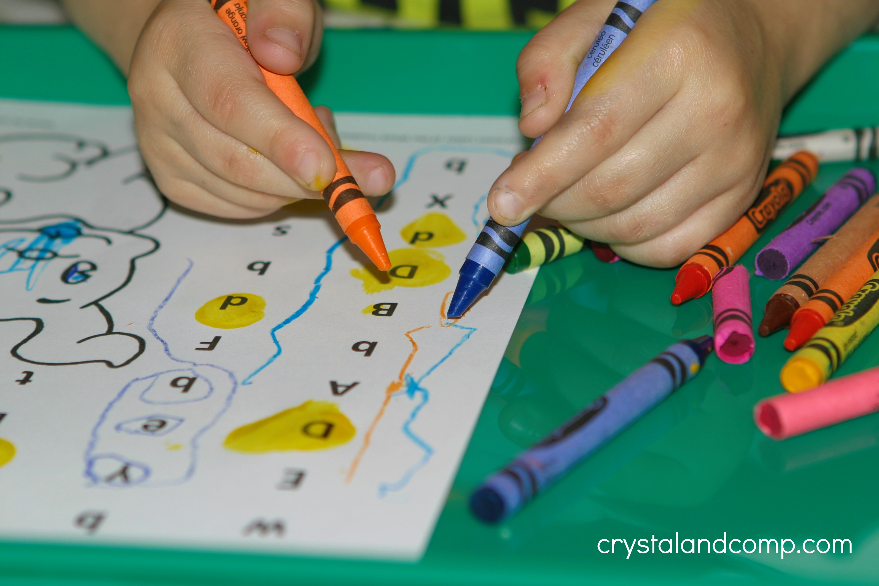 Preschool Letter Worksheets Letter D