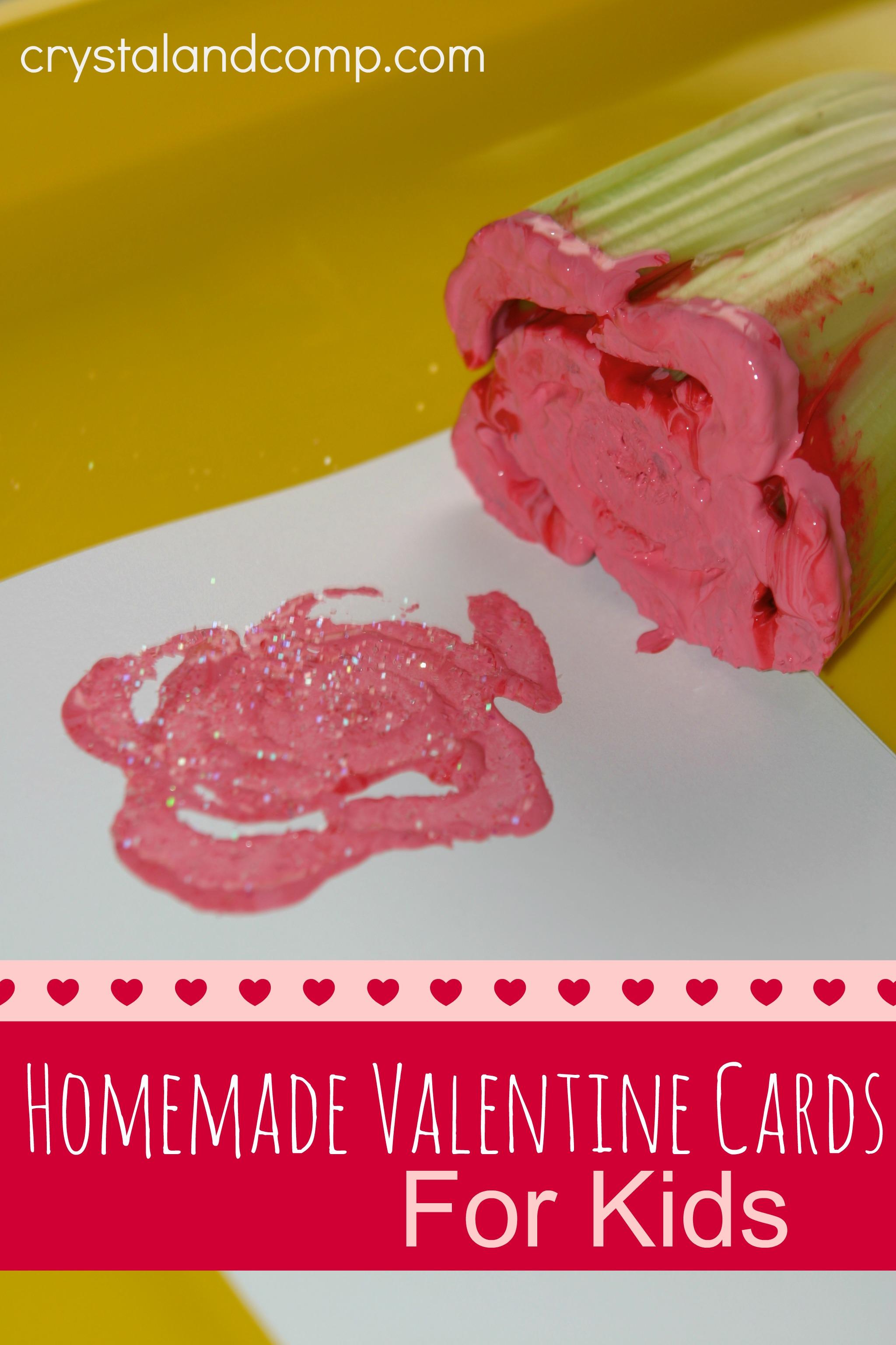 Homemade Valentine Cards For Kids