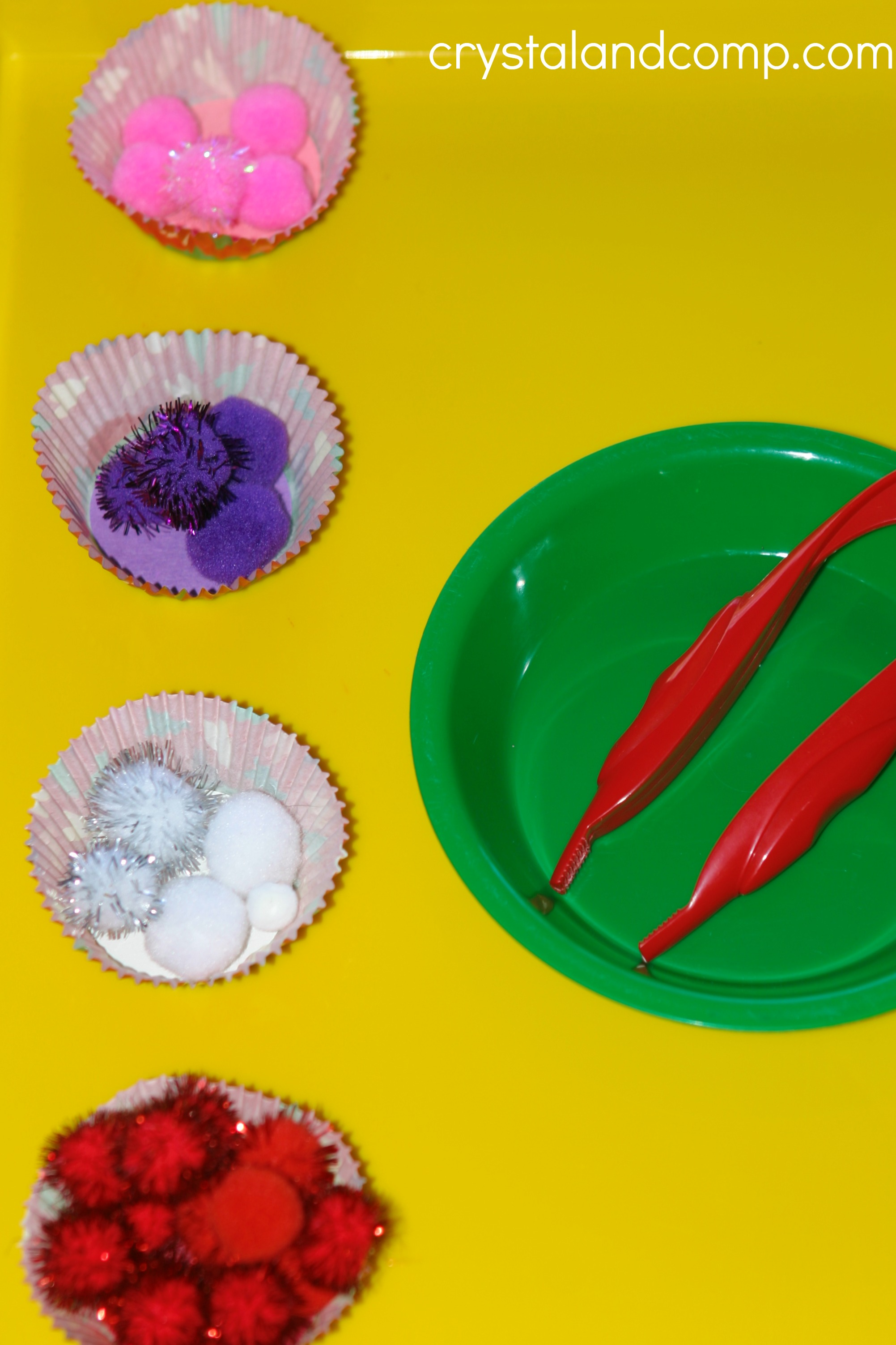 Preschool Sorting Activities