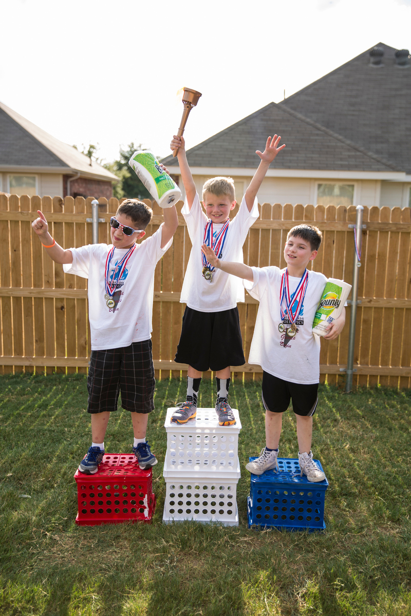 How To Throw An Olympic Birthday Party