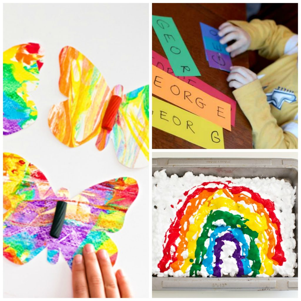 14 Ways To Teach The Colors Of The Rainbow To Preschoolers