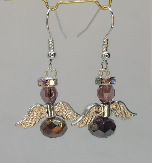 Angel Earrings Handmade