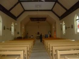 inside Holy  Trinity Church Crystal Brook