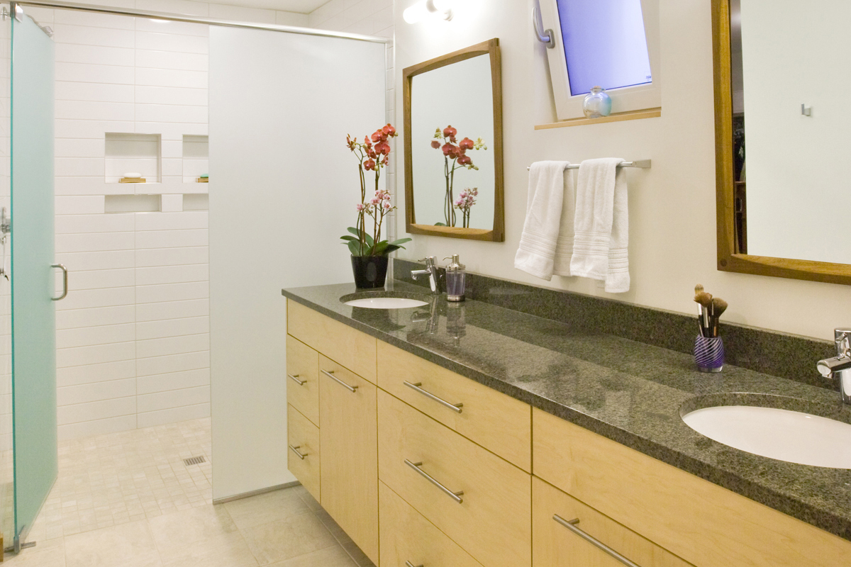 Natural Finished Maple Vanity Cabinet - Crystal Cabinets on Natural Maple Cabinets  id=33308