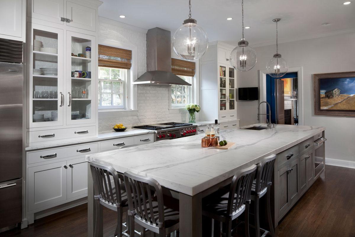 White Kitchen Vs Grey Kitchen