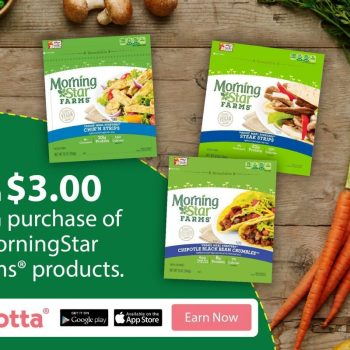 Earn $3 On MorningStar Farms® From Ibotta! #DailyVegolutions