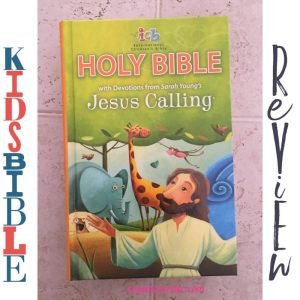 ICB Jesus Calling Bible for Children with Devotions from Sarah Young's Jesus Calling®