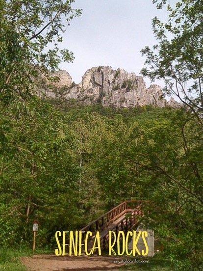 Seneca Rocks WV place to hike