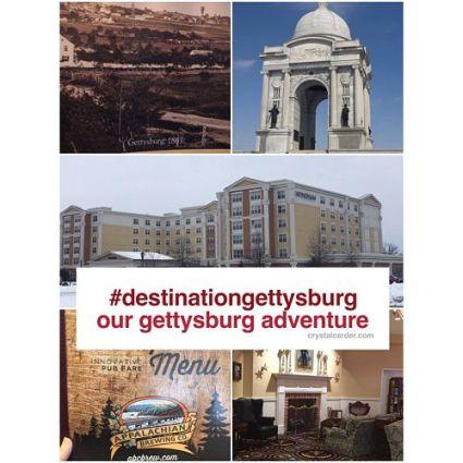 Destination Gettysburg Our Gettysburg Adventure