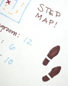 Have Fun With Your 1st Grader By Making a Step Map