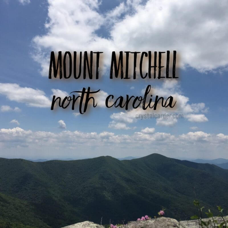 Take Me To The Mountains At Mount Mitchell, North Carolina