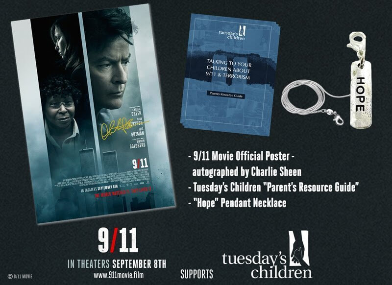 Watch the Trailer for the 9/11 Movie and Enter to Win An Autographed Charlie Sheen Poster and 9/11 Prize Pack