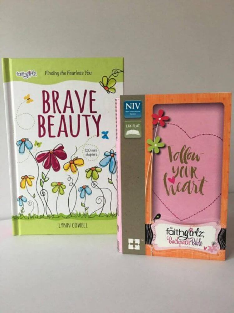 Brave Beauty, Faithgirlz Backpack Bible