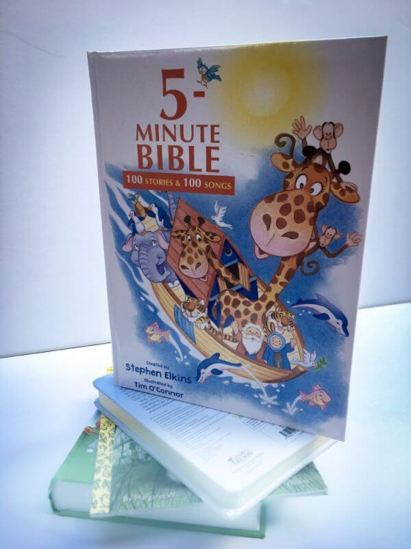 5-Minute Bible By Stephen Elkins Book Review