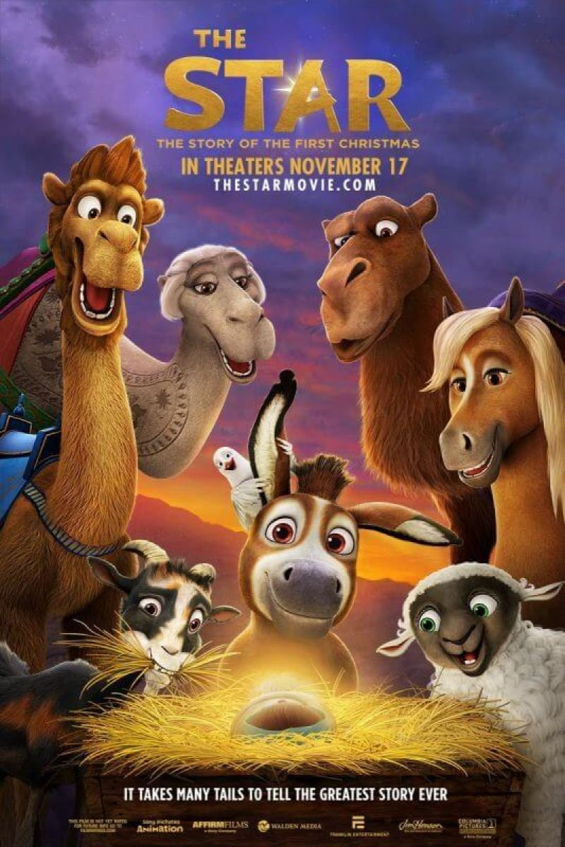 Don't Miss The Star In Theaters Starting 11/17!