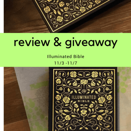 Illuminated-Bible Review and Giveaway