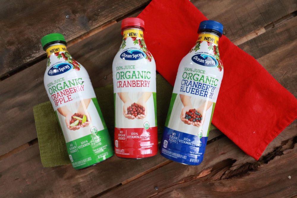 Oceanspray Organic 100% Juice