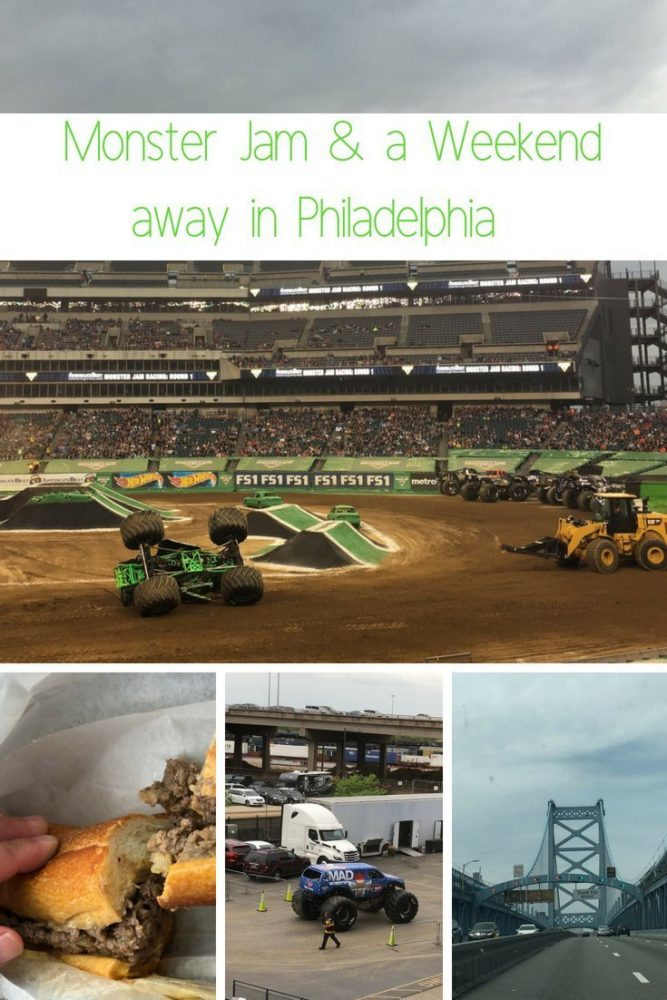 Monster Jam at the Lincoln Financial Field and a Weekend Away in Philadelphia