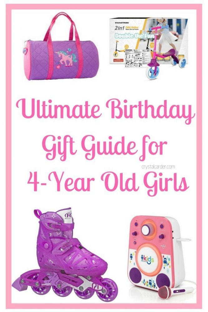 Ultimate Birthday gift guide for 4 year old girls
