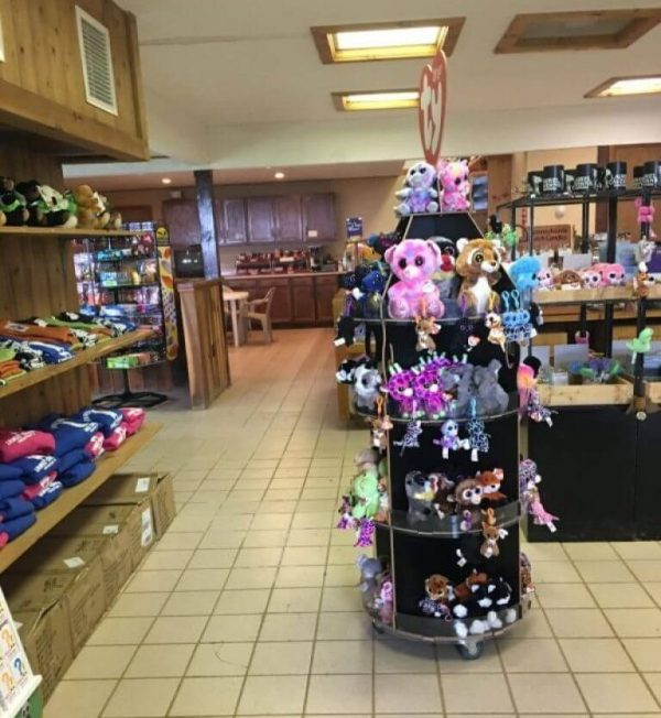 Gift shop at My family visited Laurel Caverns with my son's school. I was not compensated for this post and am sharing our experience for future visitors of Laurel Caverns.