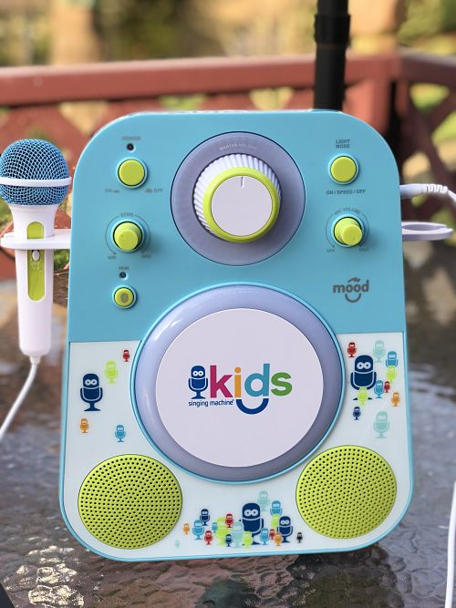 Singing Machine Kid's Mood Karaoke Machine