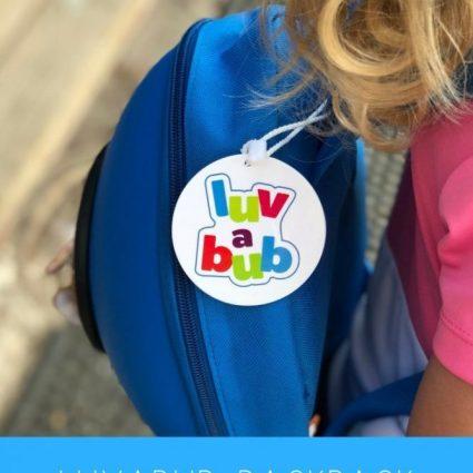 Luvabub Rocket Backpack Review & Giveaway