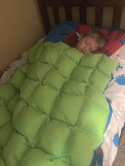 How to Help Your Child Sleep Better ad SensaCalm Weighted Blankets