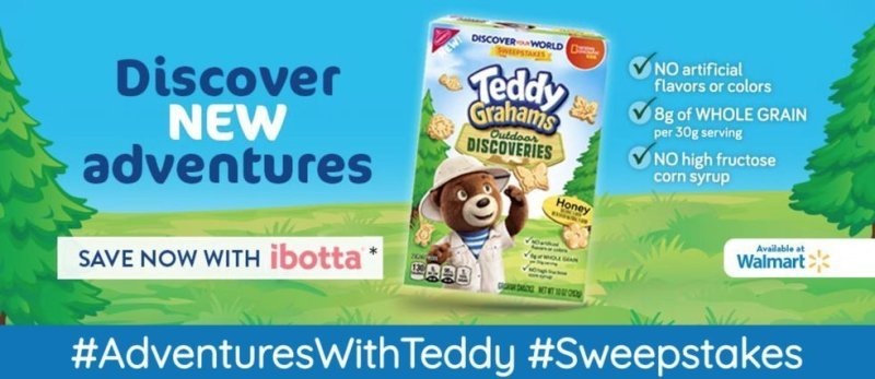 NEW! Teddy Graham Discoveries Give You the Chance to Win!