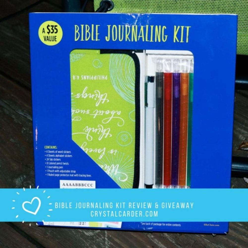 Bible Journaling Kit Review & Giveaway #BibleJournalingKit #FlyBy