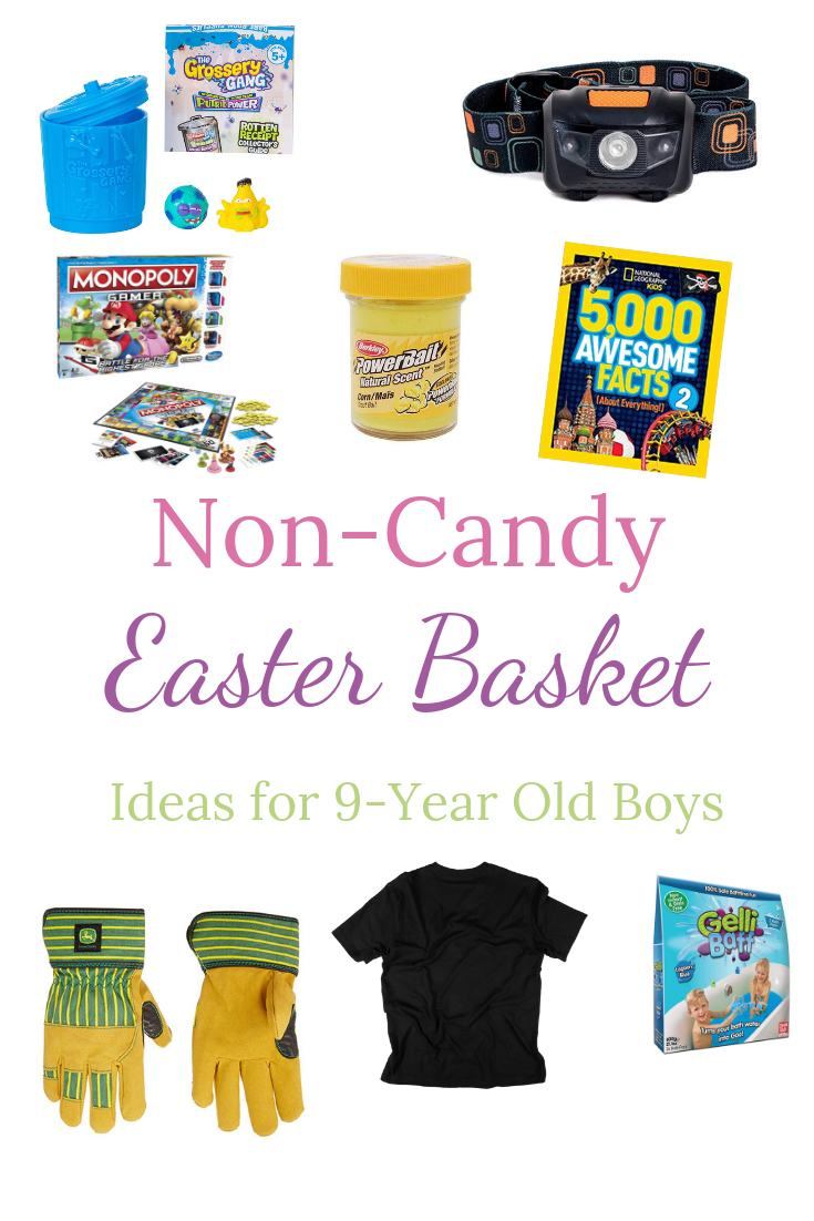 Non candy Easter ideas for a 9 year old boy
