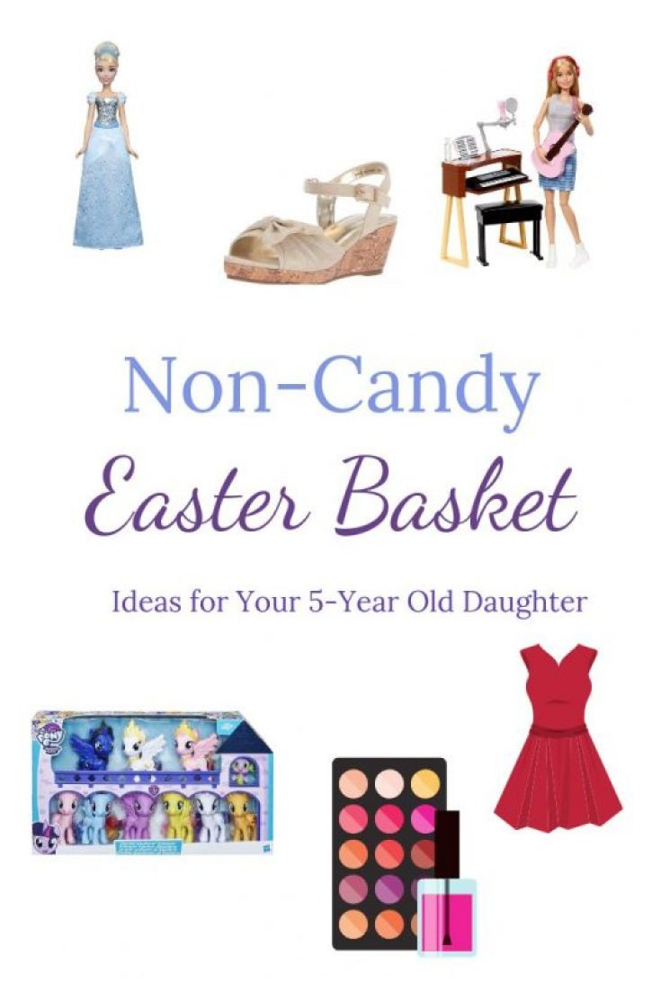 Non-candy Easter Basket ideas for your 5 year old daughter