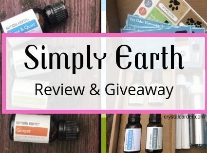 Simply Earth Review and giveaway