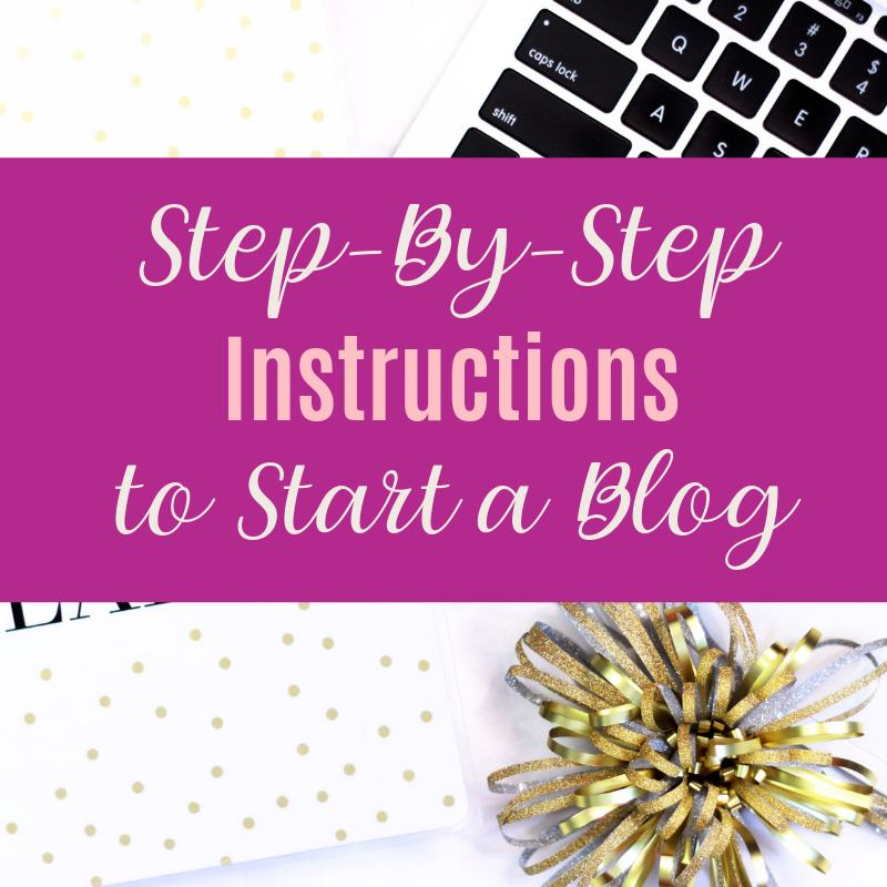 Step by step instructions to start a blog
