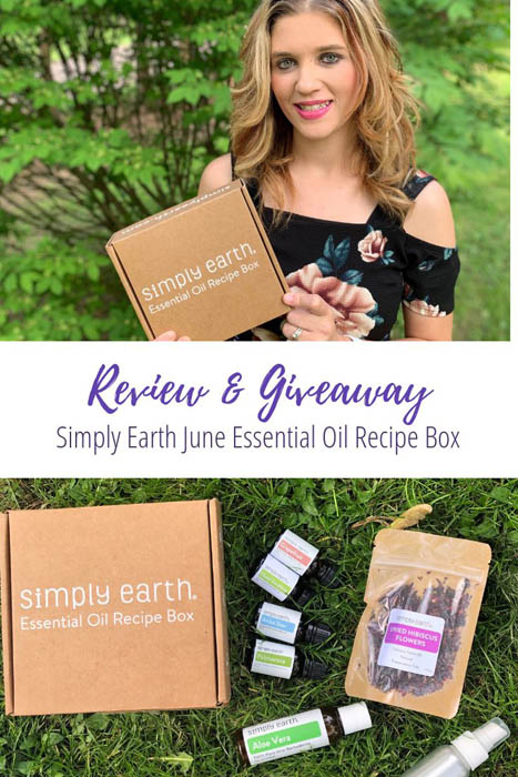 Simply Earth June Recipe box Review and Giveaway