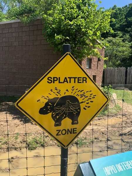 Splatter Zone in the Islands at Pittsburgh Zoo