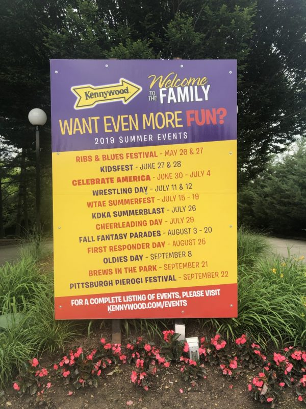 Family Fun Events at Kennywood Park 2019