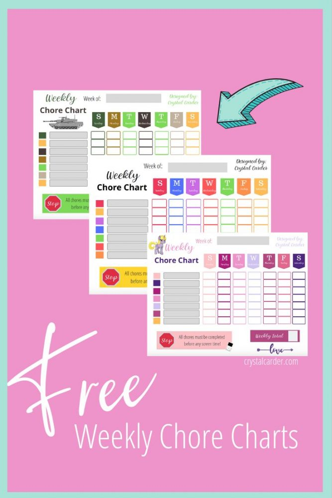 This is an image of Summer Chore Chart Printable inside household chore