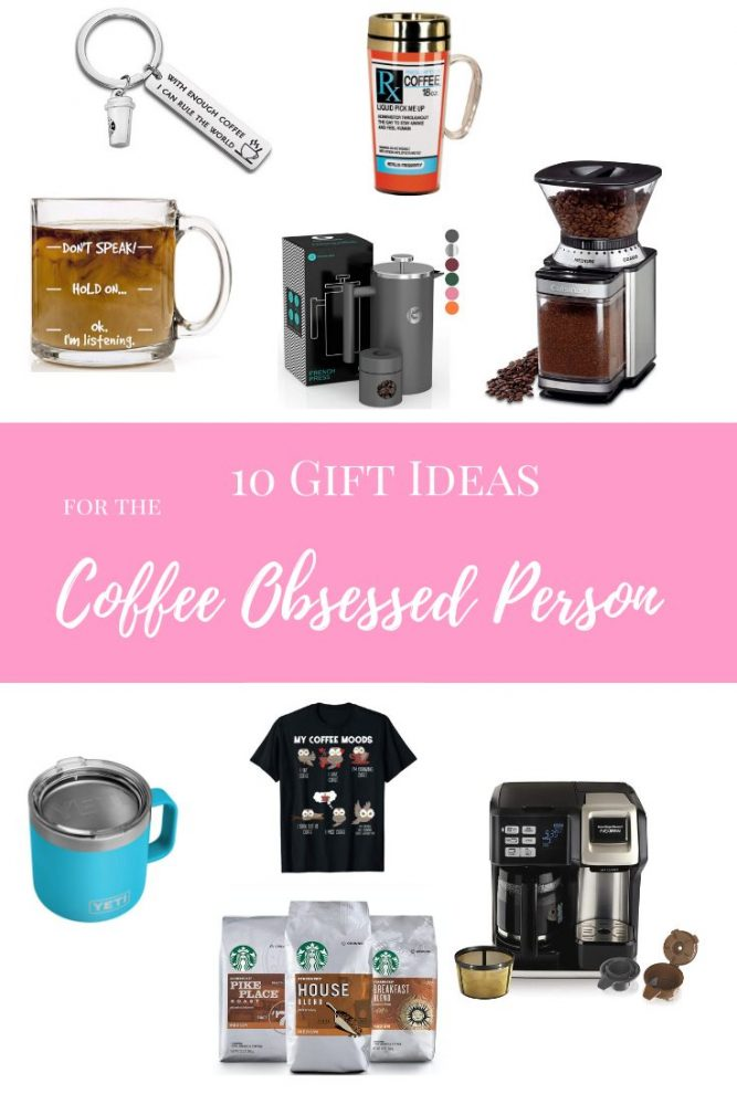 5 Gifts for the Coffee Obsessed Person on Your HOLIDAY LIST