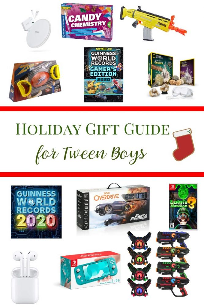 Holiday Gift Guide for Tween Boys 2019