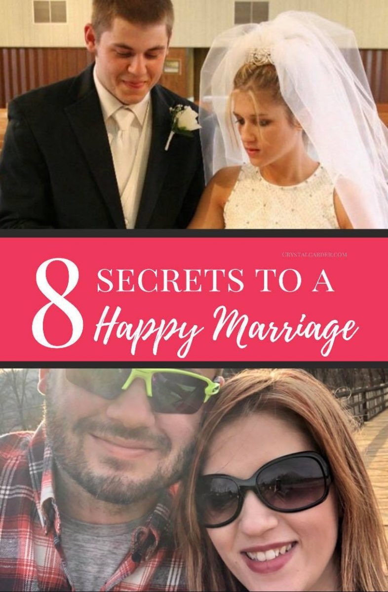 8 Secrets for a Happy Marriage